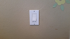 Dimmer after installation Priority Electric
