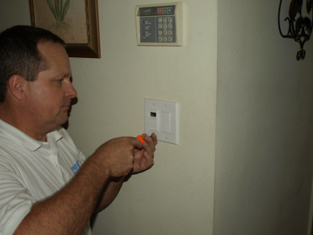 priority electric electrical contractor fixing timer switch