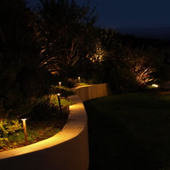 Simi Valley Electrical Contractor Landscape Lighting Night Decorative