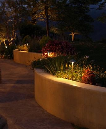 Simi Valley Electrical Contractor Landscape Lighting Night